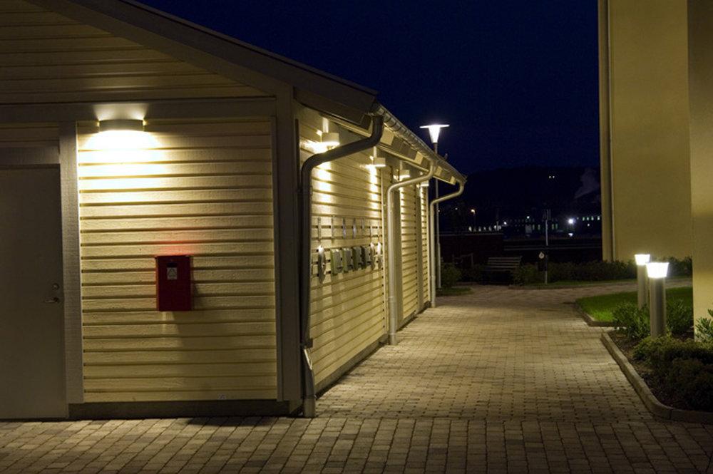 Allright - Armatur: Allright vägg och Allright tak.Projekt: Eldslandet, Jönköping.