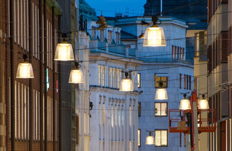 Brass - Armatur: Brass.Projekt: Jakobsbergsgatan, Stockholm.Ljusdesigner: Ljusarkitektur.