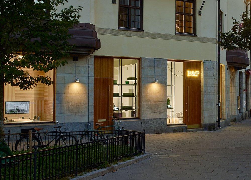 Convex - Armatur: Convex vägg, utomhus.Projekt: Behrer & Partners i Stockholm.Arkitekt: Vida Arkitekter.