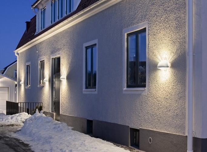 PXL - Armatur: PXL vägg.Projekt: Privat villa.