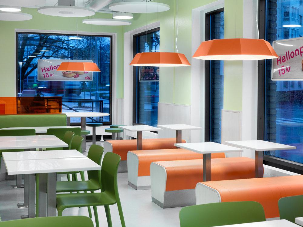 Umbrella - Armatur: Umbrella pendel.Projekt: Max restauranger.