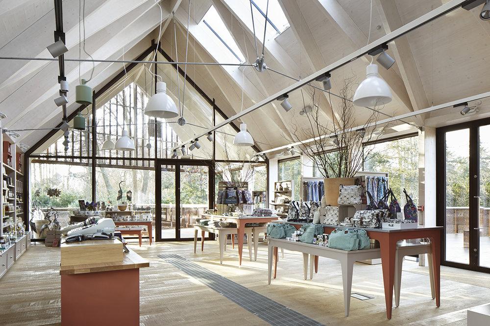 Bandy - Projekt:NT Mottisfont Visitor FacilitiesInterior design: Burd Harward ArchitectsPhoto: Jack Hobhaus