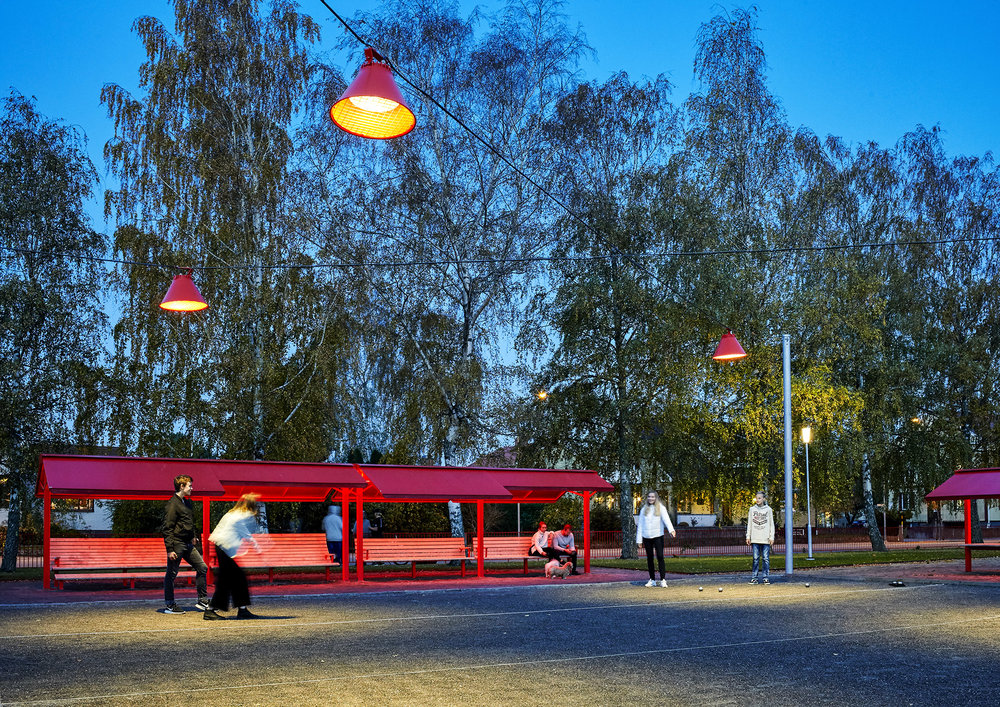 City - Projekt: City i VaraArmaturer: City vajer, Funghi Pollare.