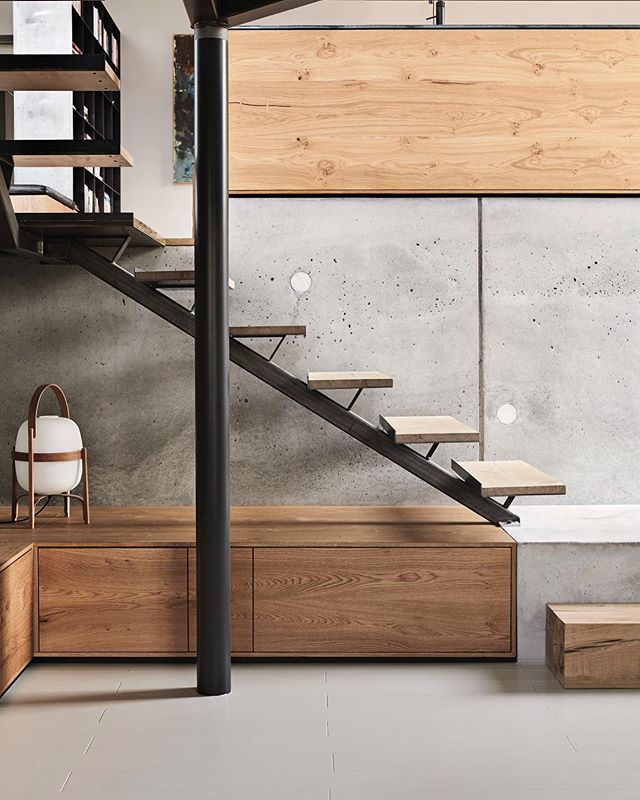 Stair and storage details from a private home north of Copenhagen.  The project was realized in close collaboration with B&O Byggeindustri.  Pictures by @sannienielsen, styling by @josefinehedemann_design