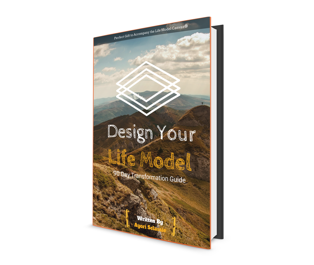 Preorder Yours Now - Design Your Life Modelis the perfect guide to transform your life starting in just 90 days!Use this book to walk step by step through the Life Model Design process to gain clarity of vision and growth with the Life Model and incorporate Work Life Integrity into your life today. Whether you have purchased a Life Model Canvas®️, or downloaded the digital version, this book presents valuable exercises to help you leverage 10 frameworks to identify your values, goals and moonshot to unlock your motivations and transform your behavior.