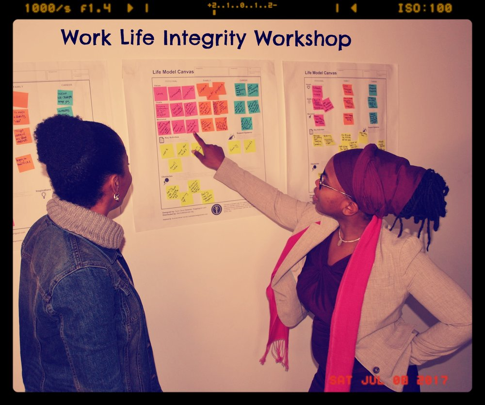 Work Life Integrity - This Workshop takes participants on a journey to gain a 360 degree view of the self using Life Model tools and Life Model Design certified instruction. This full day workshop starts with your values and ends with you being inspired, focused and better equipped than ever to achieve success and Work Life Integrity