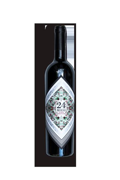 24 Mozas - Charmante rode wijn - Spanje