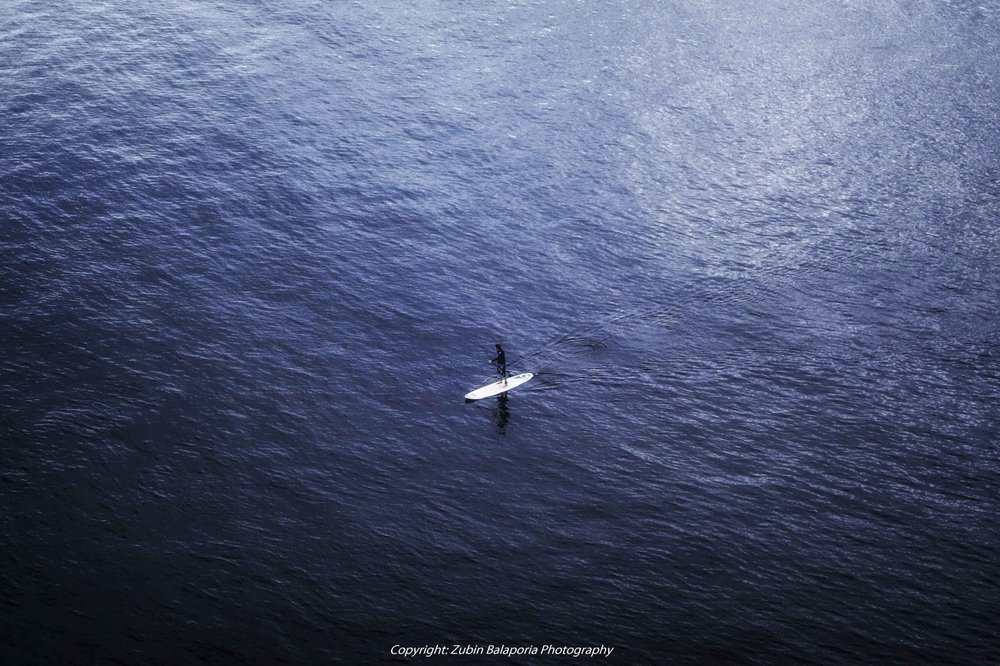 Lone Surfer on the Amazon