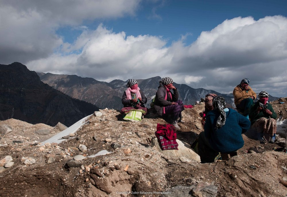 Picnic at Sela Pass (C)