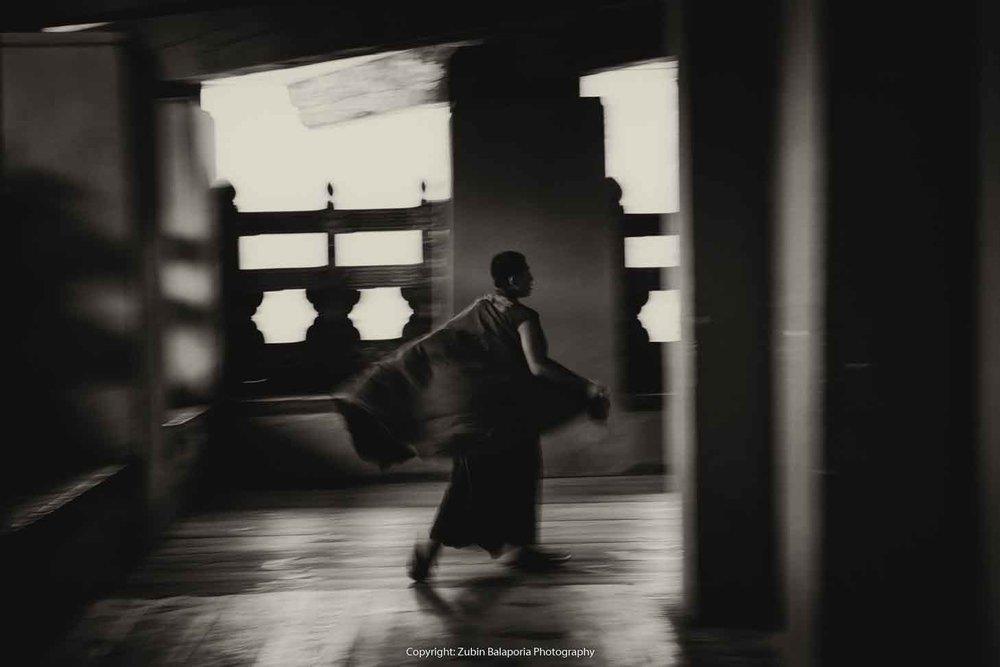 Monk in Motion