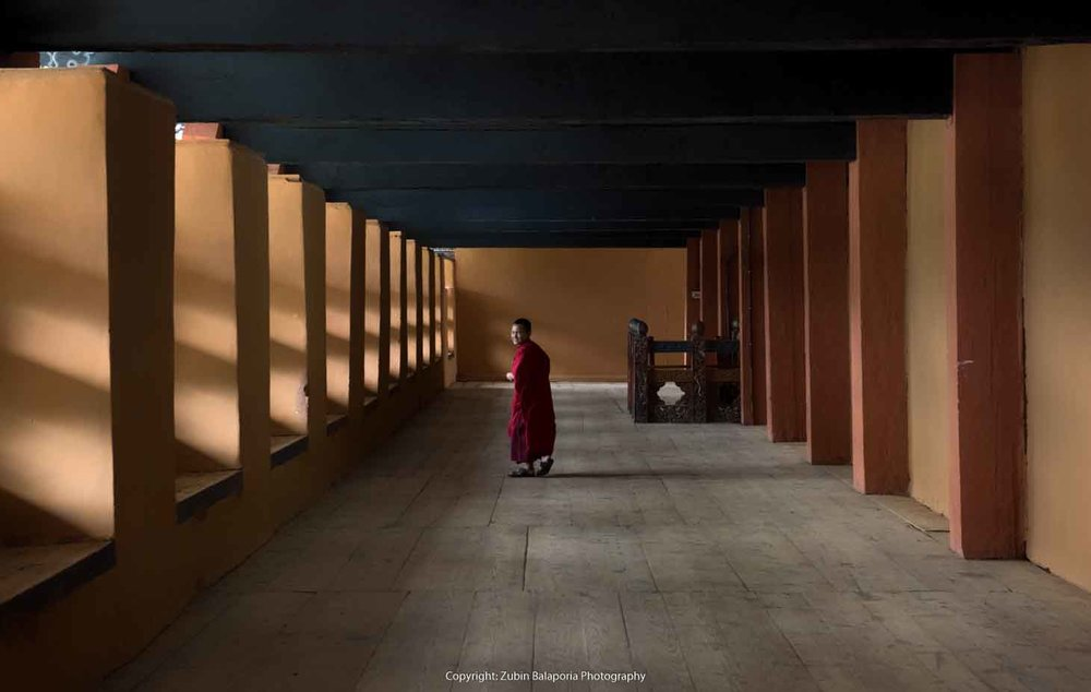 Spiritual Smile - The Pillar Monks