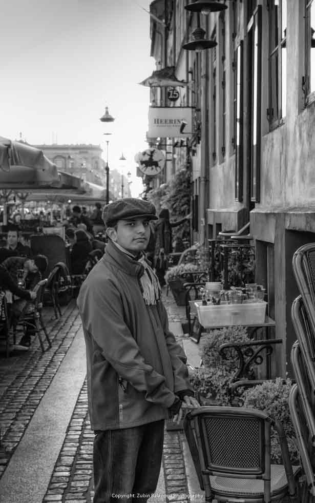 Cheeky Street Boy