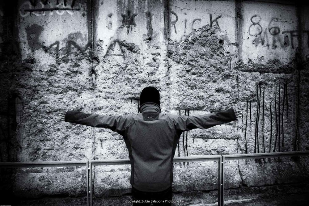 Berlin Wall Protest 01
