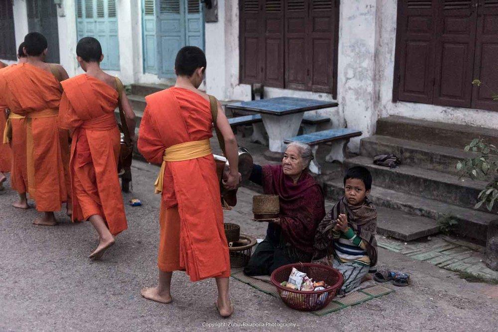 Luang Prabang - Alms Walk