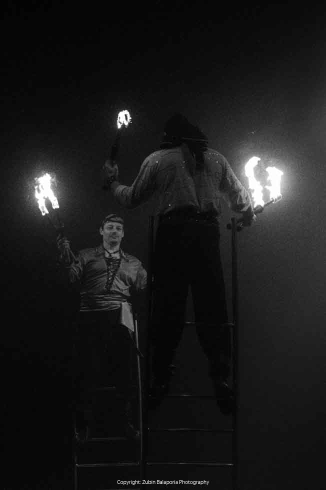 Stilted Fire Eaters