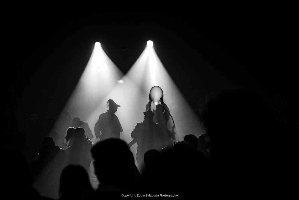 Spotlight Black and White