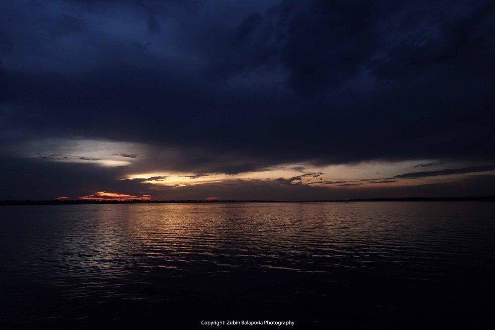Amazon Sunset Glow