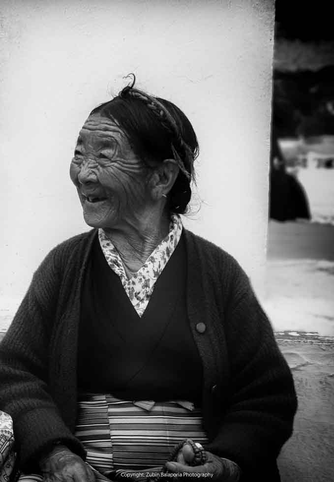 The Ancient Lady of Thimphu 02
