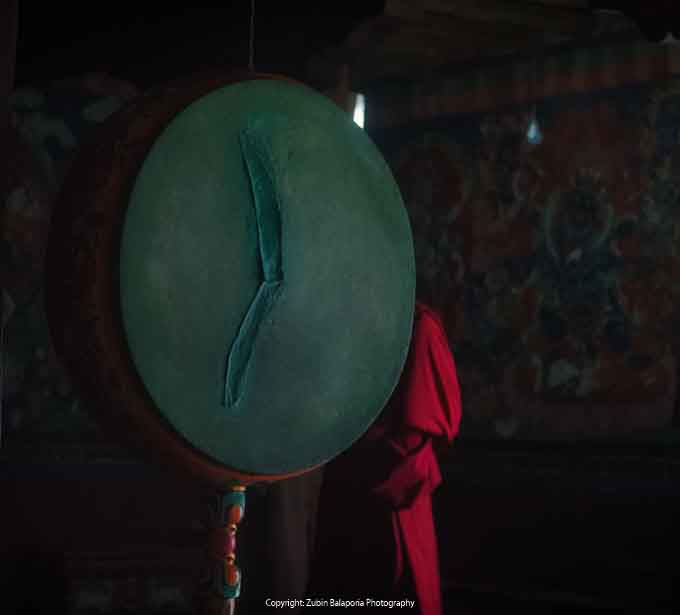 The Green Gong Monk