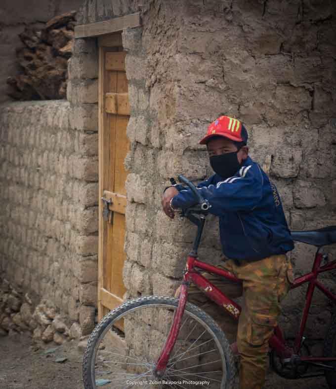 Ladakhi Cycle Lad
