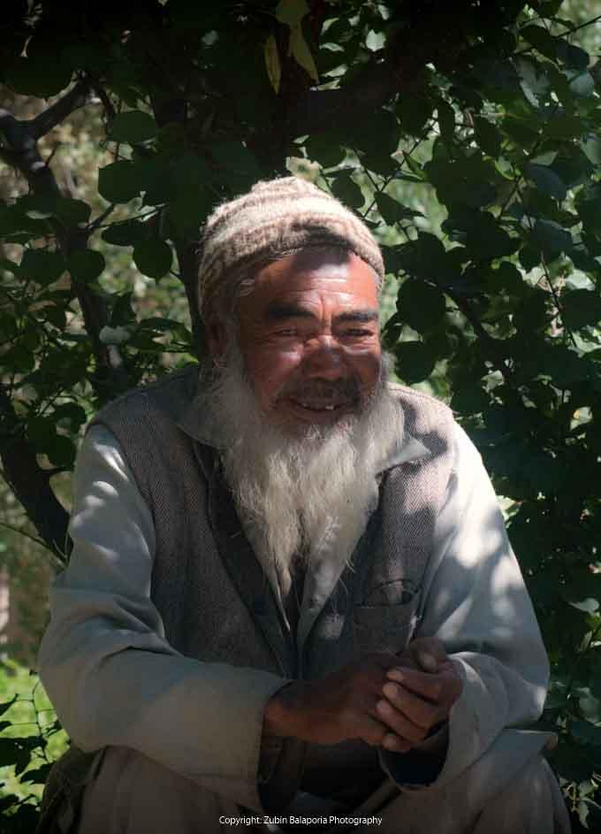 The Wise Old Man of Turtuk