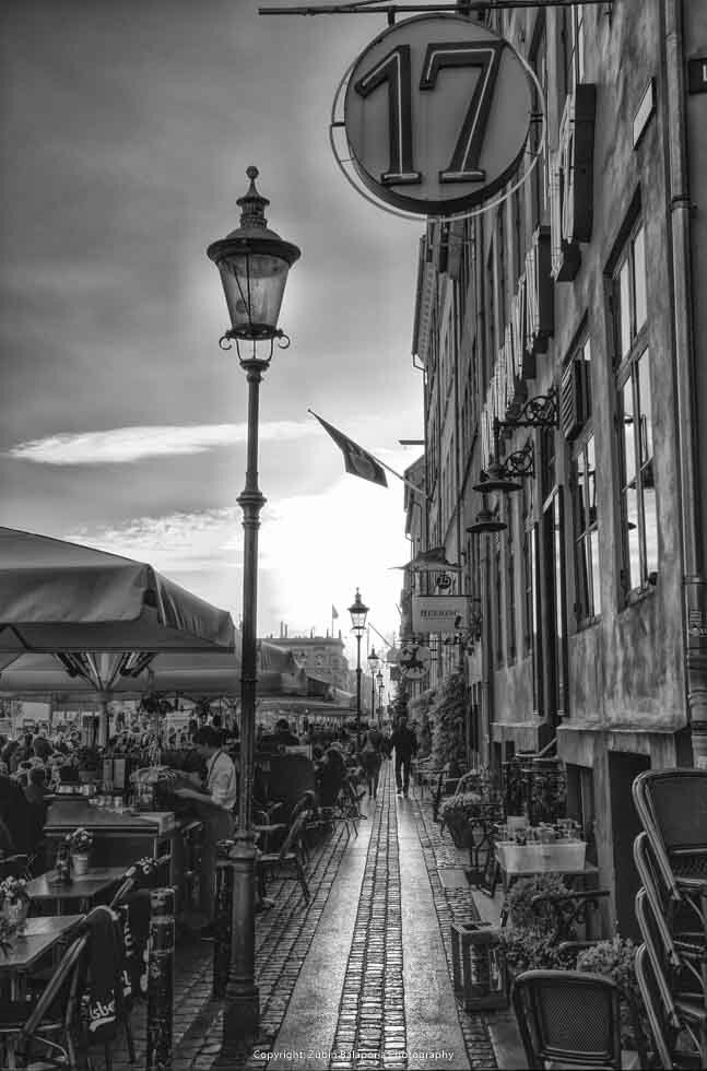 Copenhagen Sidewalk