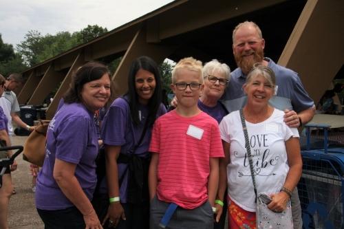 Kael, his family and his NICU nurses!