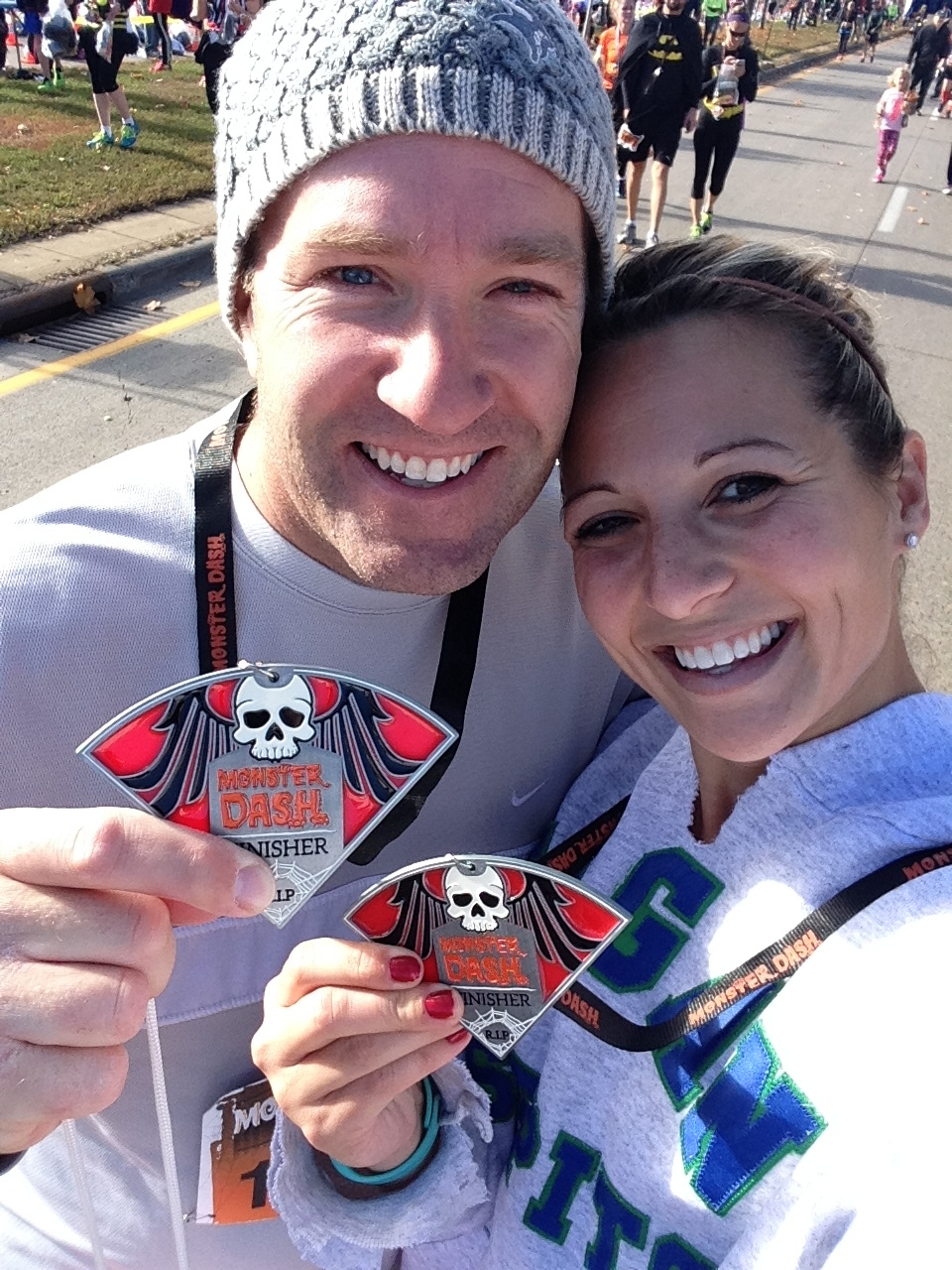 As Ben & Kate continued to make progress both my wife, Sarah, and I wanted to make a conscious effort to improve our own health. Over time this led me to consider whether I had one more marathon in me… -