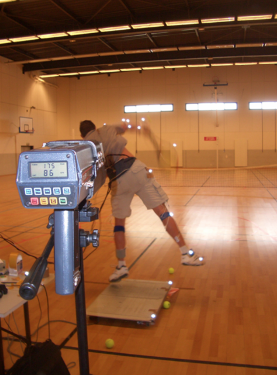 POWER TENNIS SERVE BIOMECHANICS AND FATIGUE                Examining the impact of prolonged (3 h) tennis playing on ground reaction forces and EMG activity in the lower limbs during the serve    - Collaboration with Clint Hansen, Caroline Teulier, Grégoire Millet and Jean-Paul Micallef
