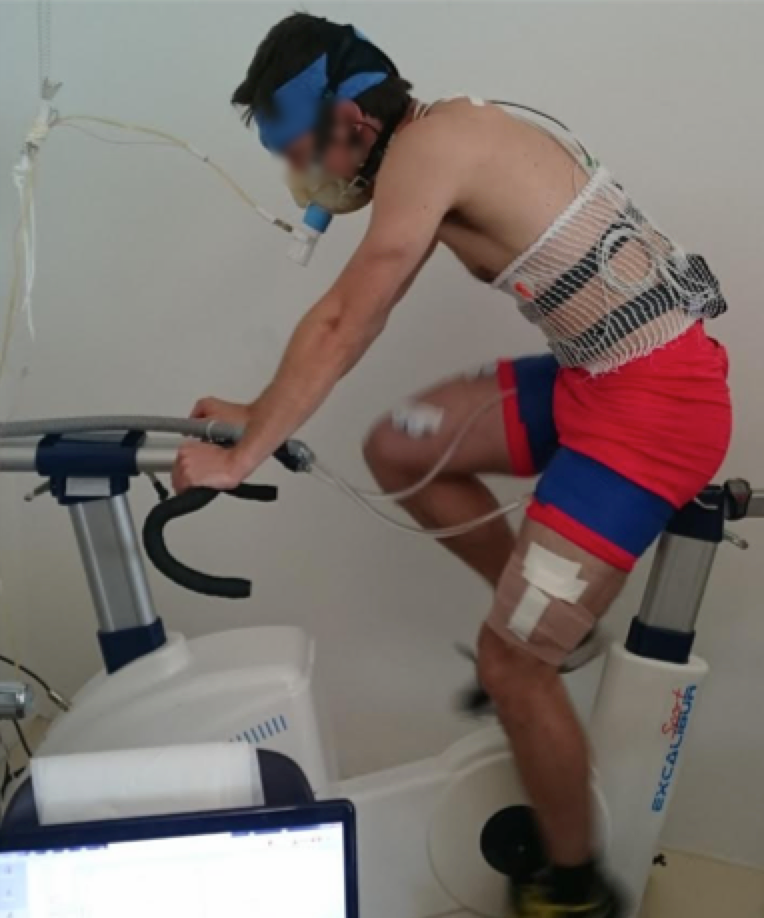 BLOOD FLOW RESTRICTION & HYPOXIC PRE-CONDITIONING ON EXERCISE CAPACITY IN HYPOXIA - Collaboration with Grégoire Millet, Mathias Aebi, Fabio Borrani, and Sarah Willis