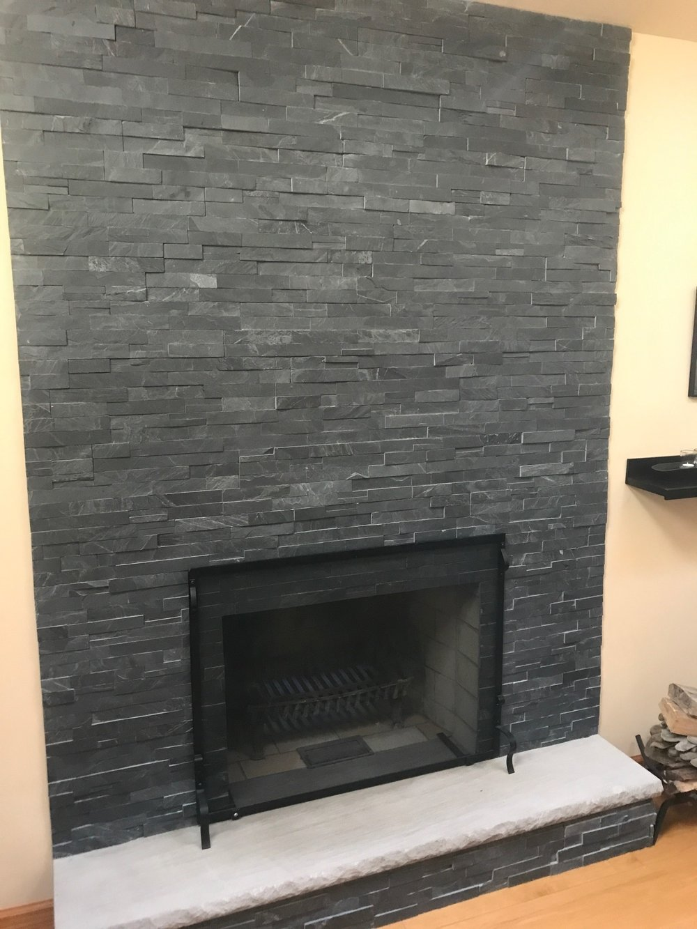 fireplace facelift u2014 integrity chimney and fireplace