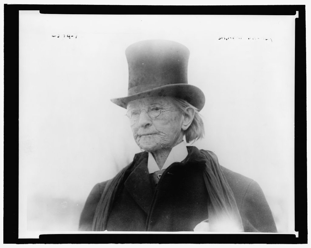Mary Edwards Walker, 1911, (Library of Congress)