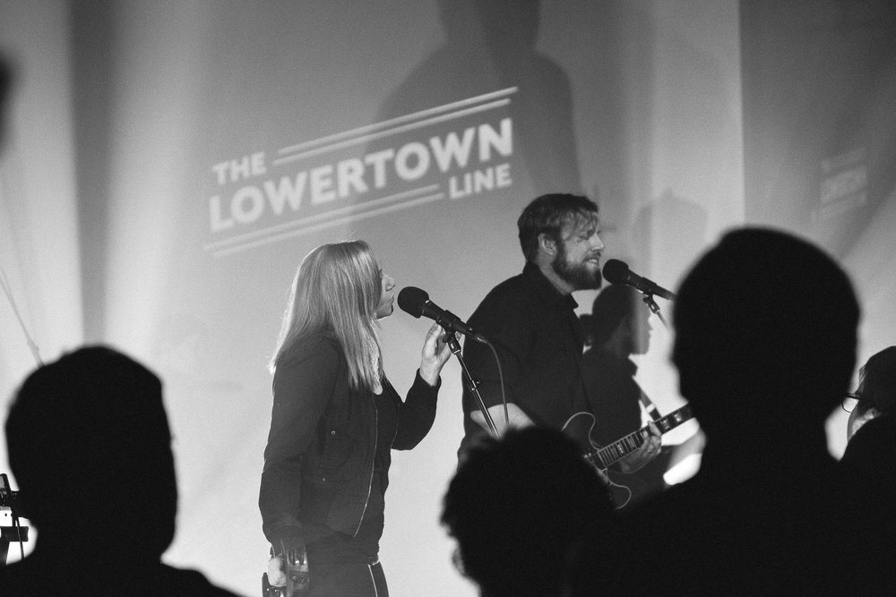 Minneapolis music photography Communist Daughter taping of the Lowertown Line
