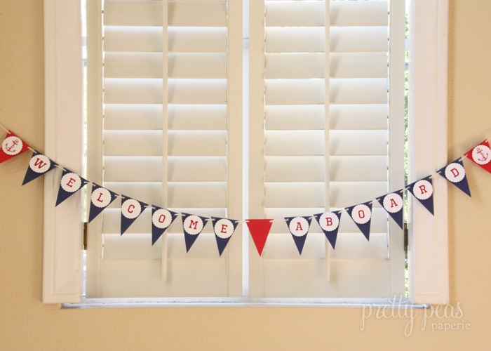 Nautical Baby Shower Decor & Inspiration