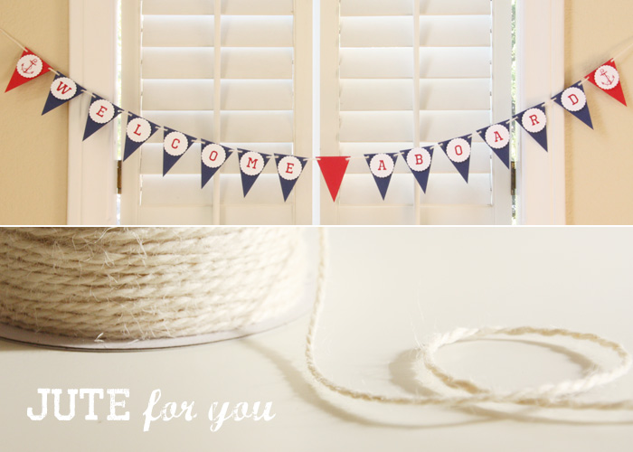 Nautical Jute Giveaway
