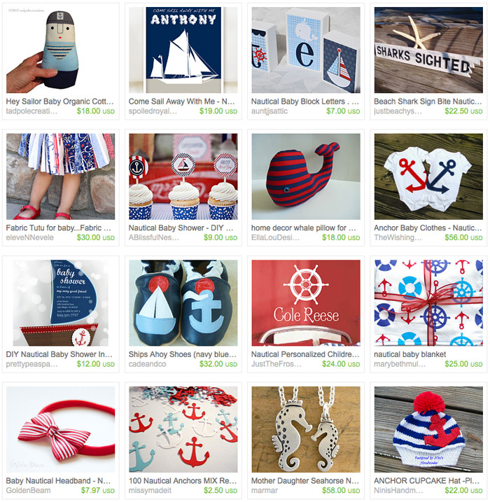 Nautical Baby Inspiration
