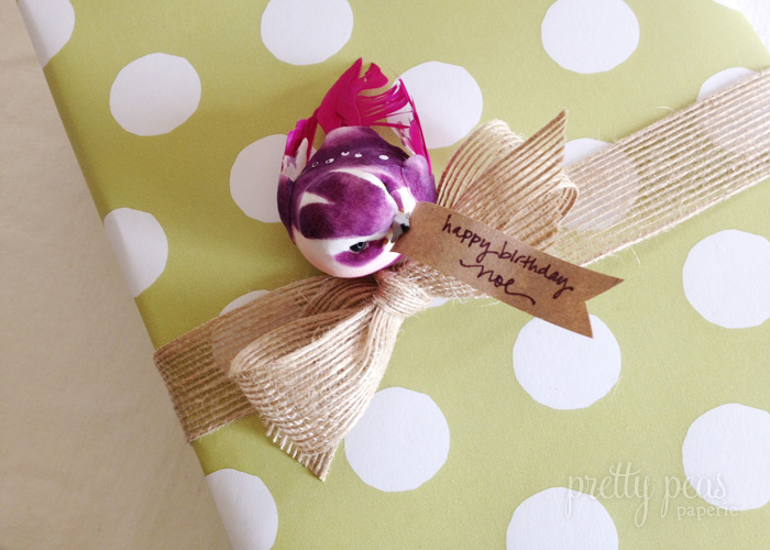 Bird Message | Creative Gift Wrap