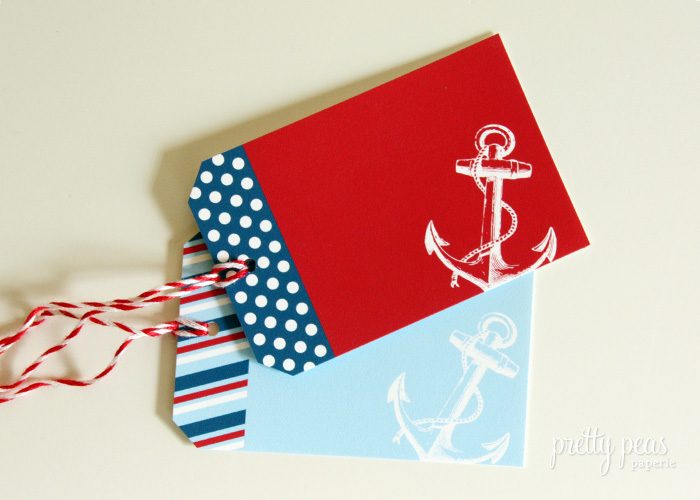 Free Printable Nautical Gift Tags // Pretty Peas Paperie