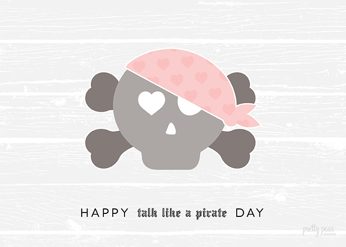 Happy Talk Like A Pirate Day!