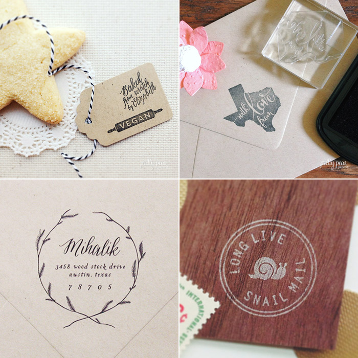 New Clear Rubber Stamp Designs