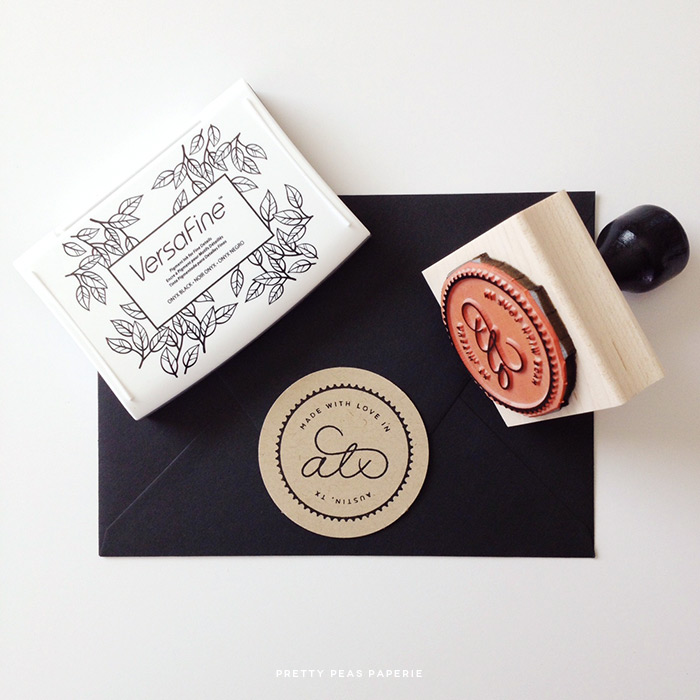 Made with love in Austin, Texas // Pretty Peas Paperie