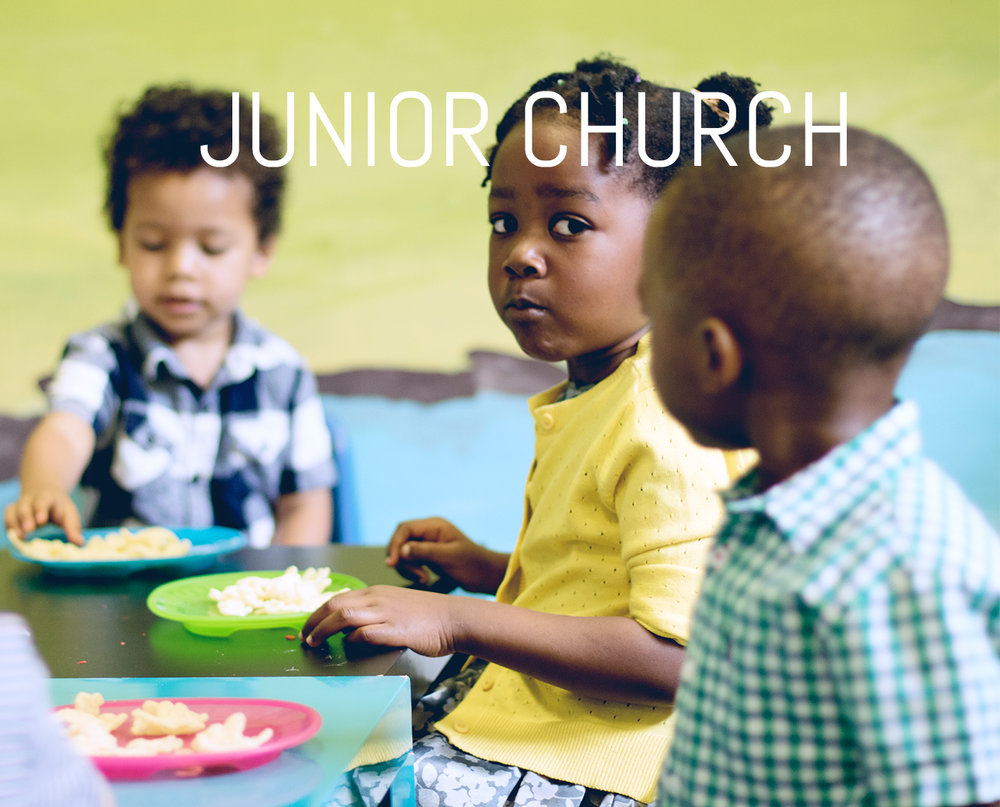 Children can be dropped off to Junior church and Creche  15 minutes  before the service starts. Day:  Sundays  Time:  9:00AM/11:00AM