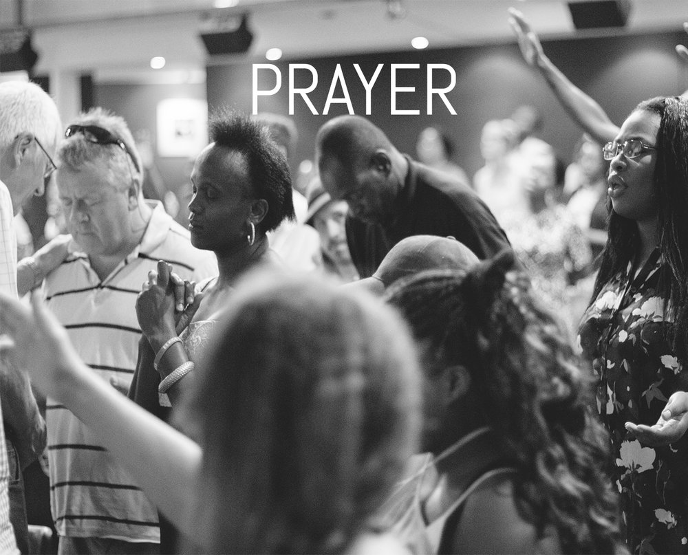 Prayer is a crucial aspect of the Christian faith, so we make sure we have a prayer ministry team ready for every service. Let someone pray with you... it might just change your life.