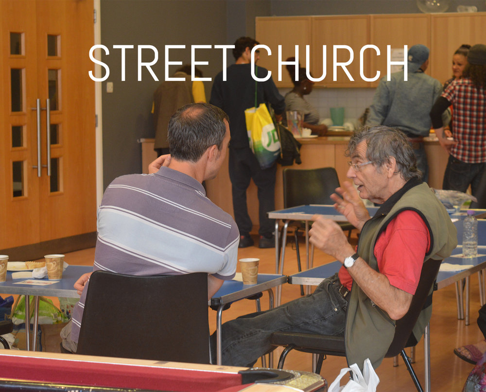 As a Church family we have a big emphasis on the community and we believe it's our duty to show people just how much God loves them. We run a coffee morning on a Friday and Street Church on a Wednesday based on the truth found in Isaiah 61  Day:  Wednesdays/ Fridays   Time:  7:30PM-9:00PM                10:30AM-NOON