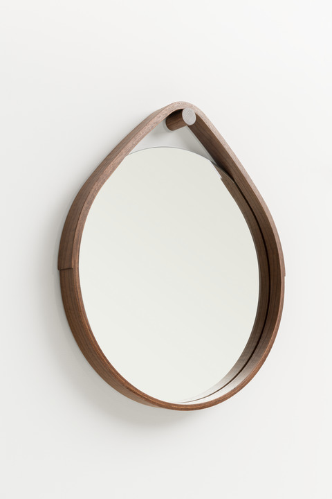 > Large Hoop Mirror.