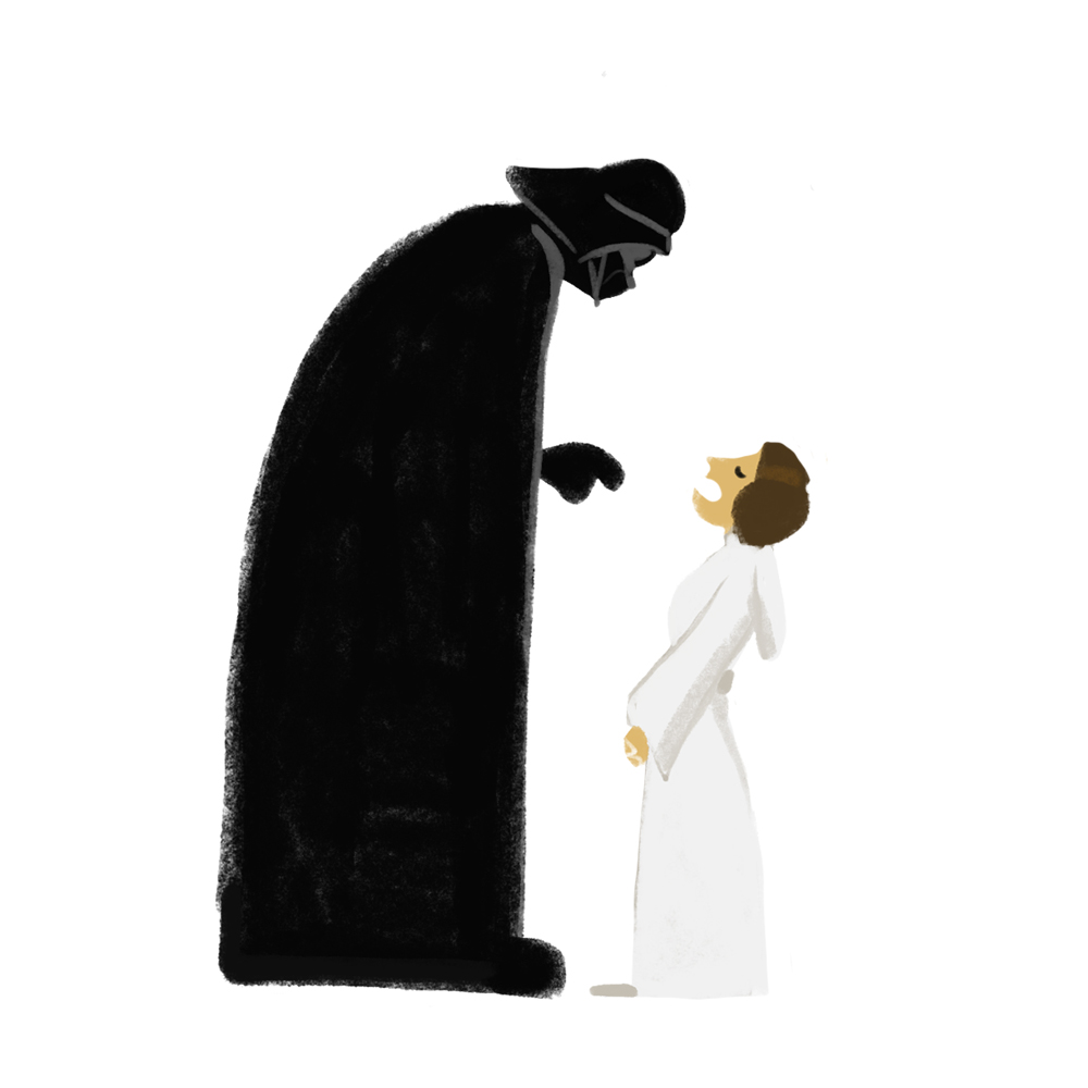 ANEWHOPE-Vader-Leia hello mireille st-pierre.jpg
