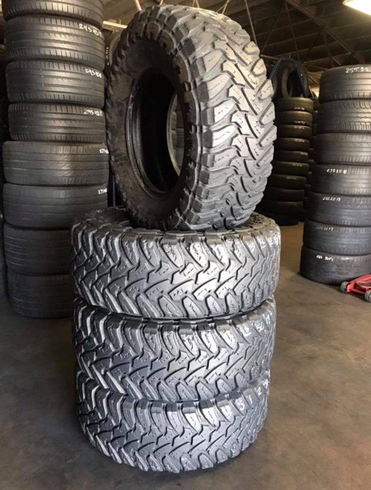 Let Warehouse used truck off road tires