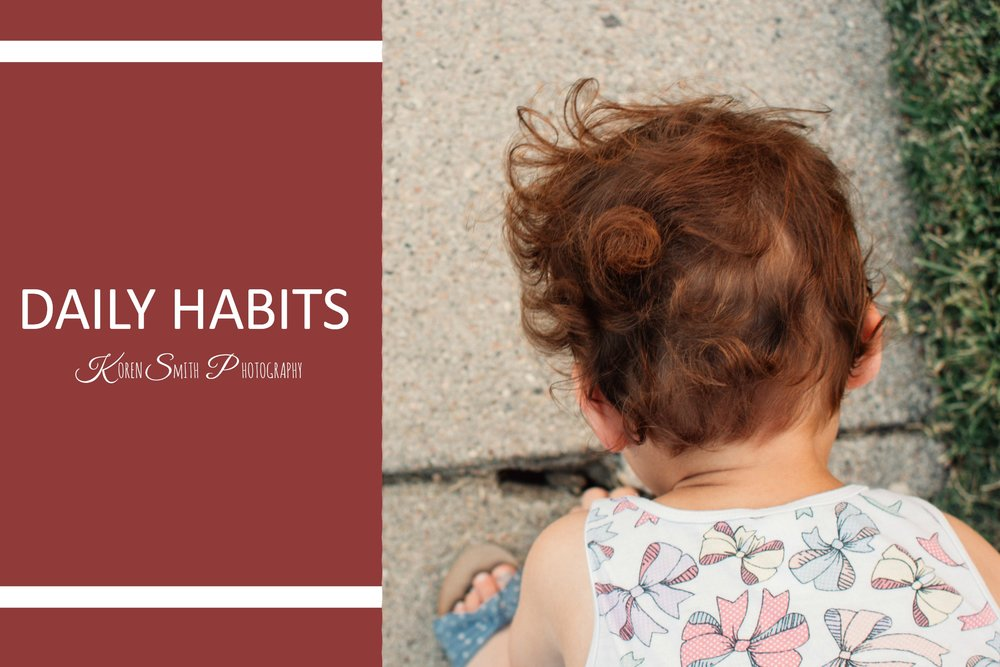 DAILY hABITS - August 21, 2017I started last week off deeply immersed in the feeling of guilt. While I find the process of starting my own business thrilling, it's also very difficult and extremely time consuming. Daily, I am having to practice the fine art of time management.