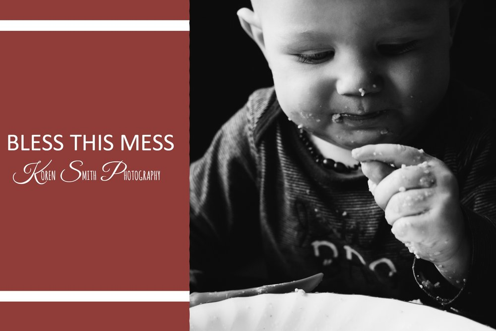 Bless this mess - September 11, 2017Between the unscheduled food fights, the blank walls that are practically begging for a new look and the inevitable dirty diaper episodes, my life is a mess.