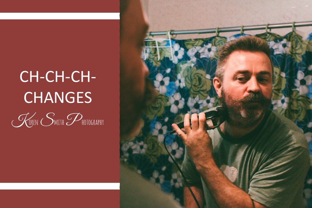 """CH-CH-CH-CHANGES - August 8, 2017In the words of David Bowie there comes a time in everyone's life where we need to """"Turn and face the strange"""". This week marks the start of some new things in my family. A new career, a new perspective on life, and for my father a brand new look..."""